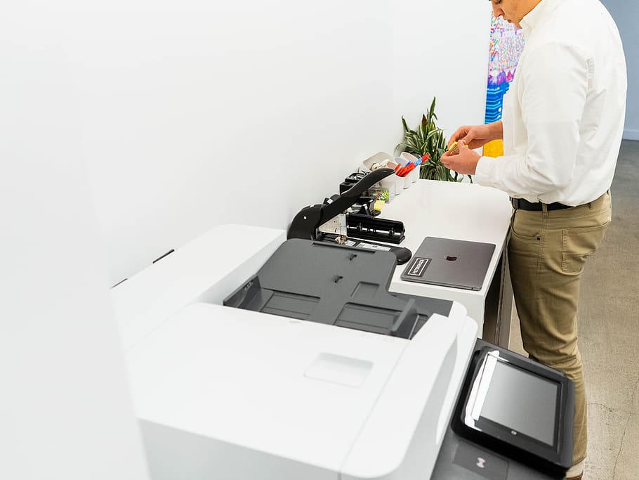 person office supplies equipment copier assistant